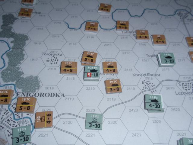 CHS/CMJ「コルスンの戦い」ソロプレイ(2戦目)⑤_b0162202_18104332.jpg