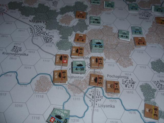 CHS/CMJ「コルスンの戦い」ソロプレイ(2戦目)⑤_b0162202_18105249.jpg