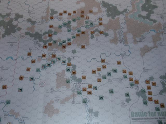 CHS/CMJ「コルスンの戦い」ソロプレイ(2戦目)⑤_b0162202_18112170.jpg