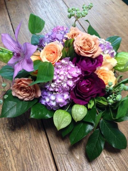 ブルーベリーとバラと紫陽花_f0155431_20501940.jpg