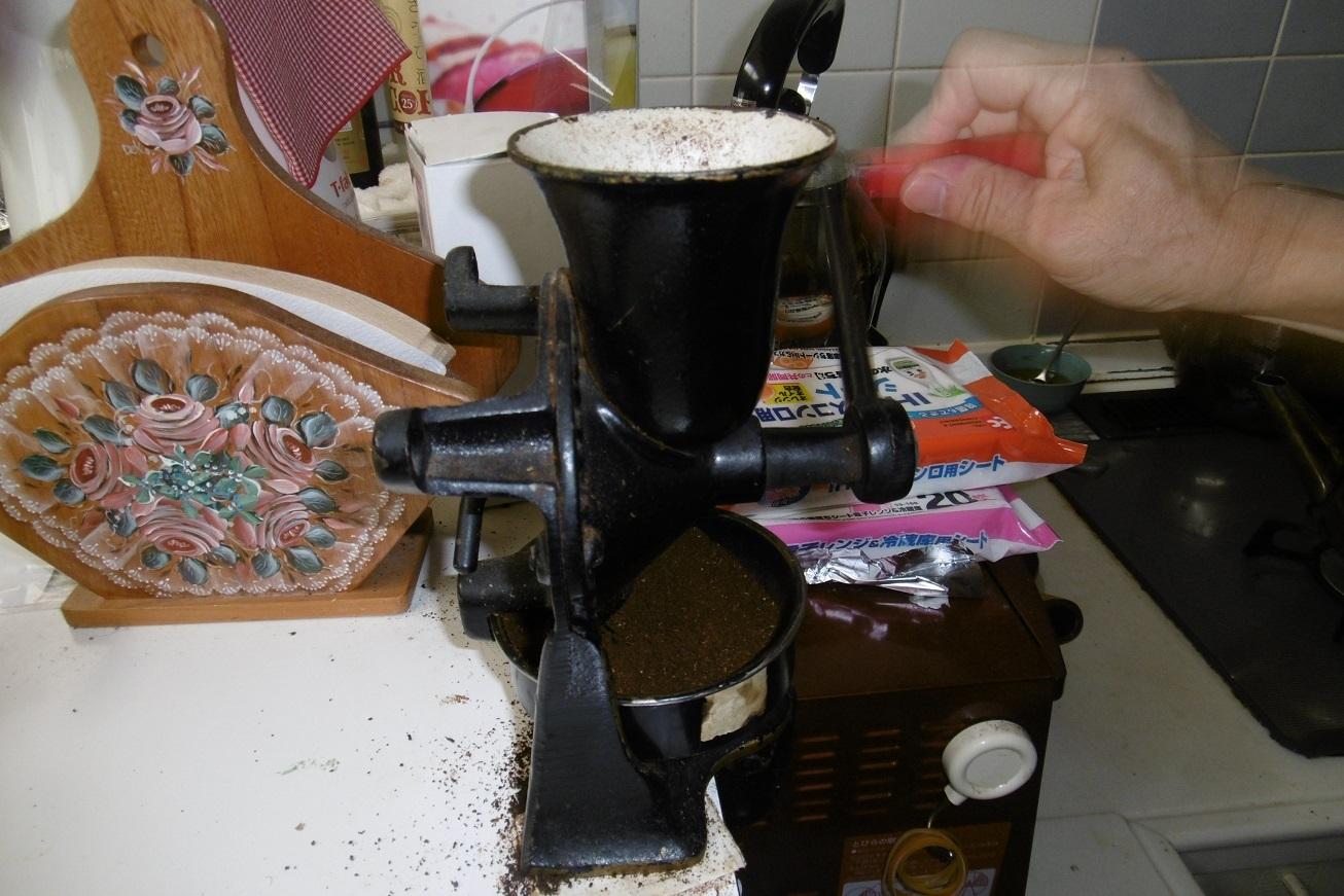 挽きたてコーヒーは美味い。_f0205367_13574119.jpg