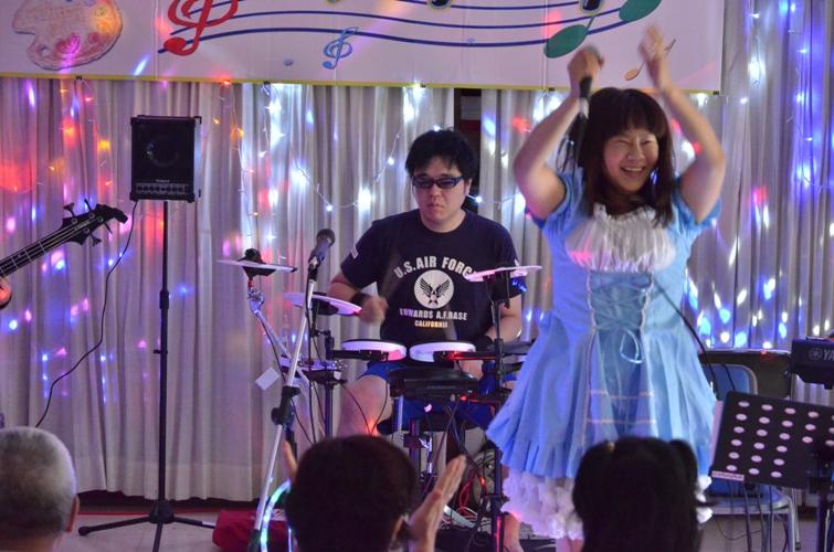 6月6日、パレットコンサート@仲間園♪_e0188087_14441482.jpg