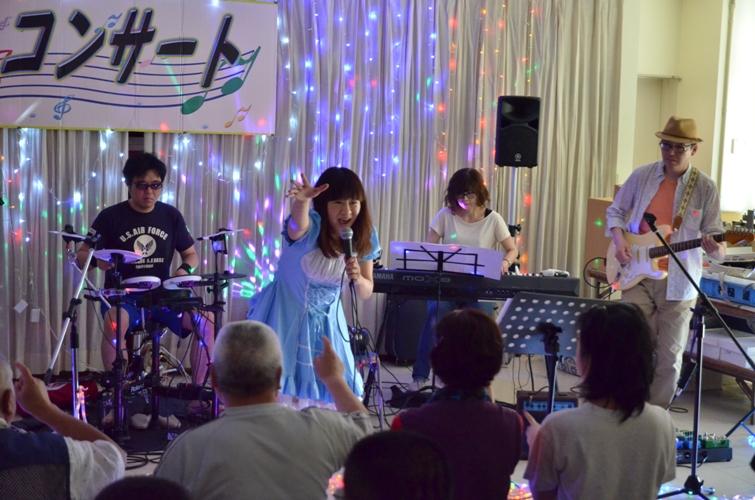 6月6日、パレットコンサート@仲間園♪_e0188087_22384392.jpg