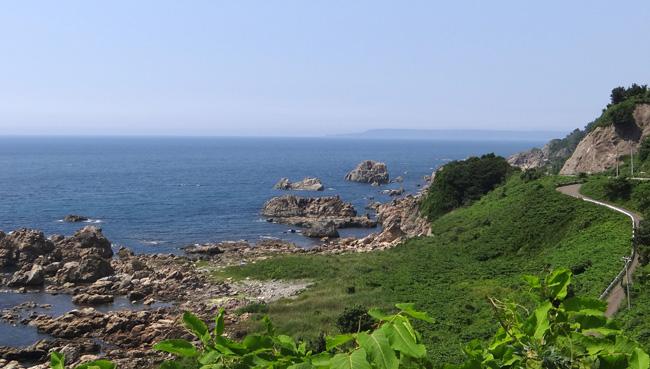 初夏の西海岸ドライブ。海と蕎麦畑の景色など~♪_a0136293_1627415.jpg