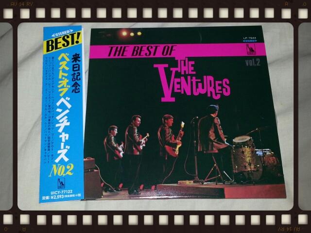 THE BEST OF THE VENTURES vol.2 紙ジャケ_b0042308_18405173.jpg
