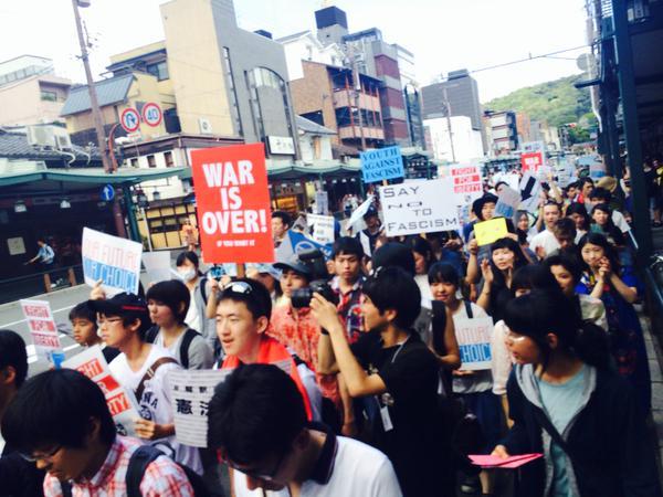 日本列島 連日騒然 安倍政権は戦争法案可決を急ぐ準備に突入_f0212121_18304758.jpg