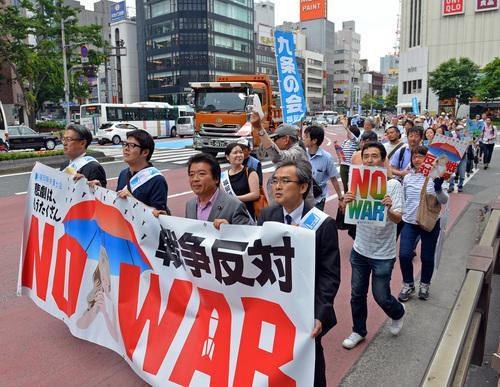 日本列島 連日騒然 安倍政権は戦争法案可決を急ぐ準備に突入_f0212121_1837219.jpg