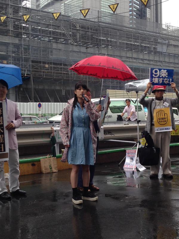 日本列島 連日騒然 安倍政権は戦争法案可決を急ぐ準備に突入_f0212121_18392359.jpg