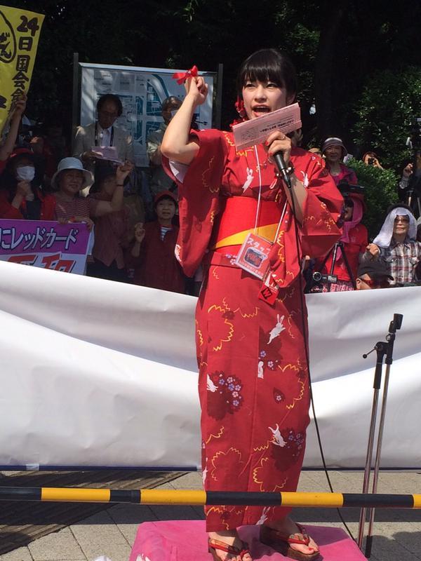 日本列島 連日騒然 安倍政権は戦争法案可決を急ぐ準備に突入_f0212121_18415948.jpg