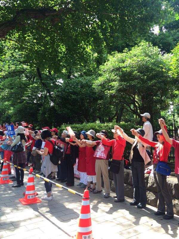 日本列島 連日騒然 安倍政権は戦争法案可決を急ぐ準備に突入_f0212121_18424475.jpg