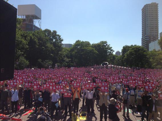 日本列島 連日騒然 安倍政権は戦争法案可決を急ぐ準備に突入_f0212121_18435656.jpg