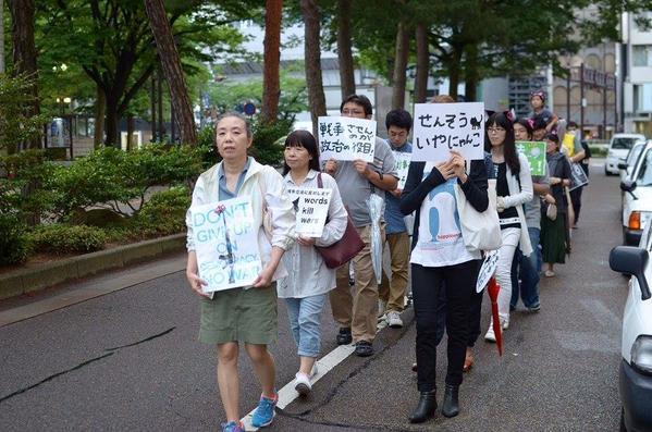 日本列島 連日騒然 安倍政権は戦争法案可決を急ぐ準備に突入_f0212121_194637.jpg