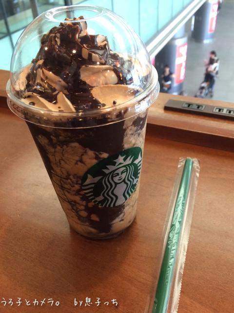 *スタバ* 〜チョコレート クランチ フラペチーノ〜_f0348831_06492027.jpg