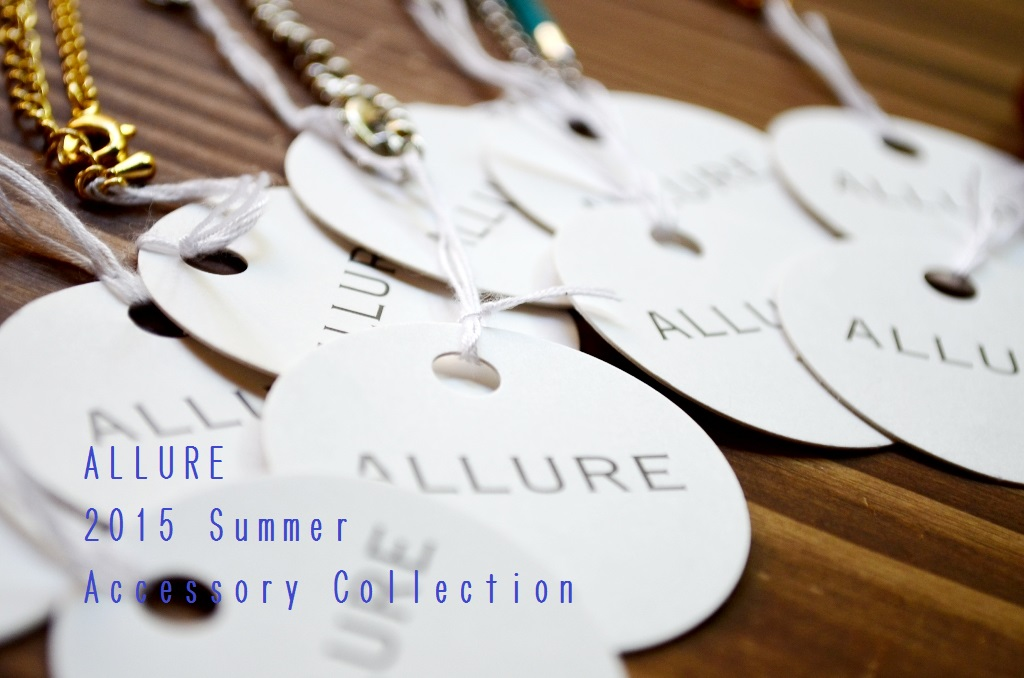 """""""ALLURE  2015 Summer  Accessory Collection~ロングネックレス編\""""_d0153941_15191917.jpg"""