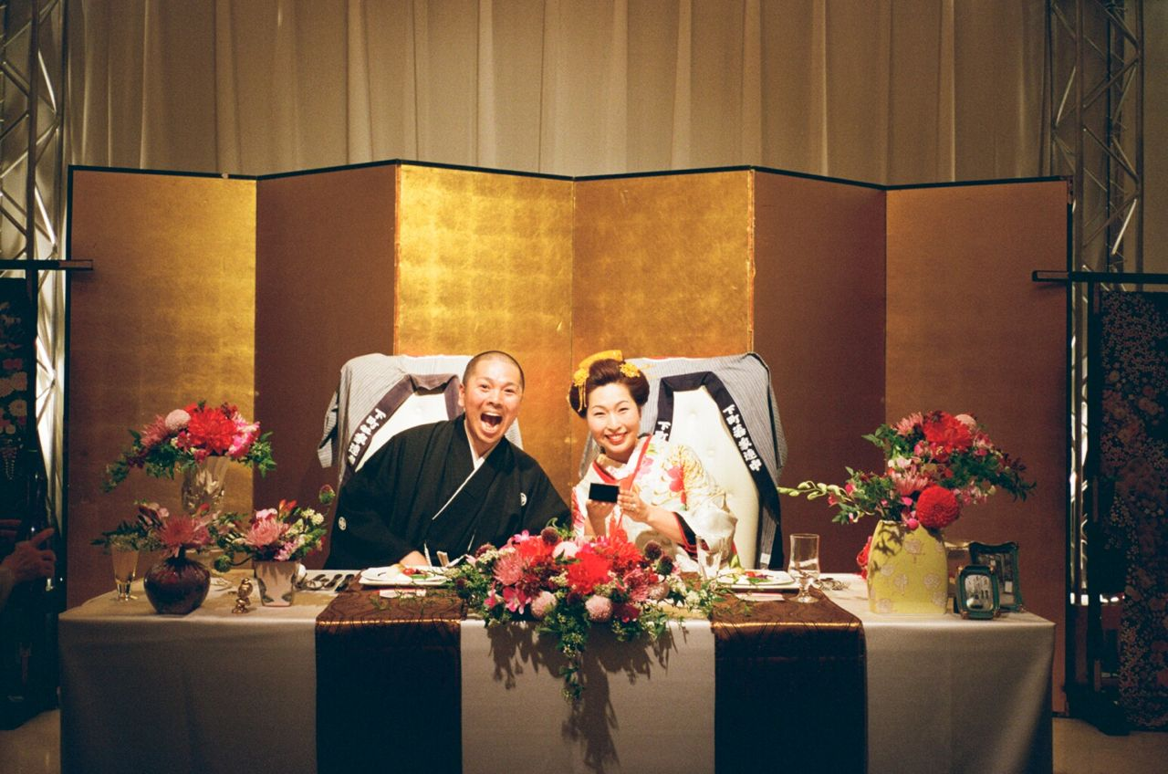 さかなくんときよちゃんの結婚式_f0170995_105944.jpg