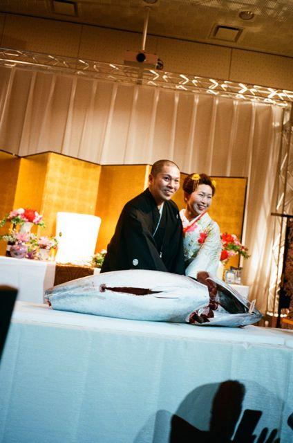 さかなくんときよちゃんの結婚式_f0170995_11141861.jpg
