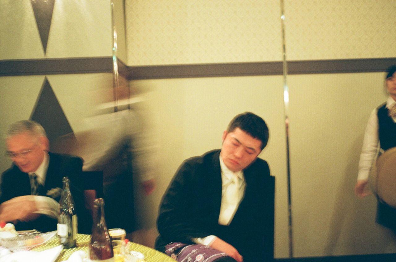 さかなくんときよちゃんの結婚式_f0170995_1121849.jpg