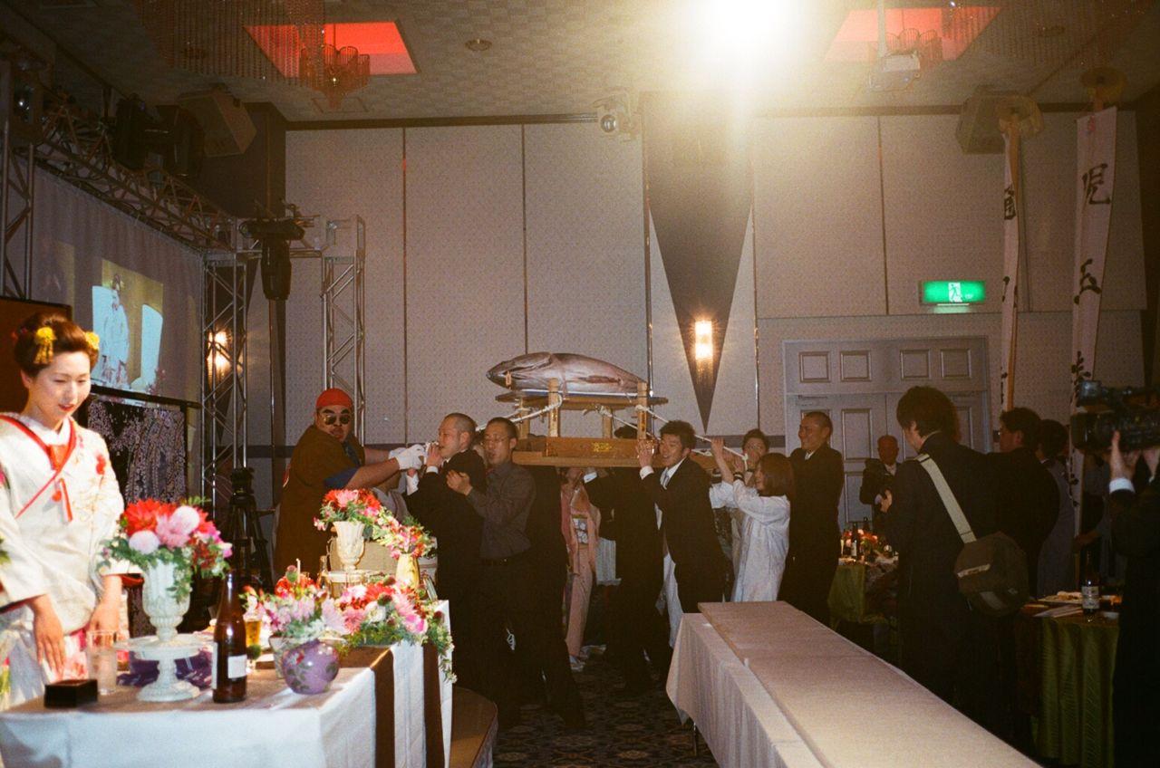 さかなくんときよちゃんの結婚式_f0170995_11307.jpg