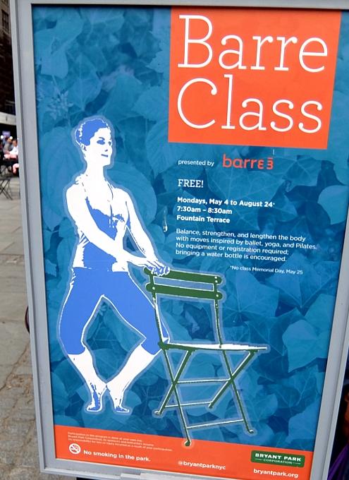 ブライアント・パークの無料のヨガ・クラス(Bryant Park Yoga)の様子_b0007805_0173146.jpg