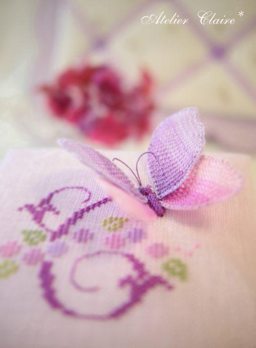 紫陽花シリーズの花刺繍のカルトナージュ_a0157409_08393368.jpg