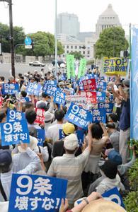 日本列島 連日騒然 安倍政権は戦争法案可決を急ぐ準備に突入_f0212121_1261685.jpg