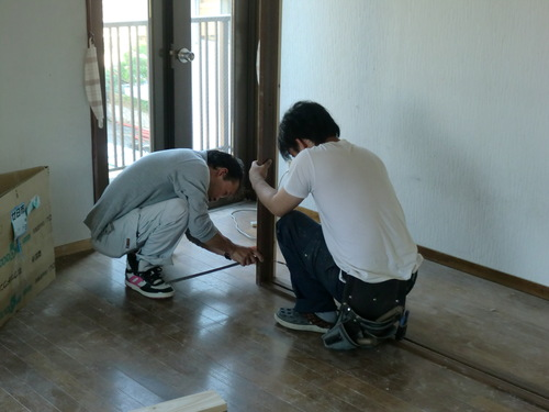 西区 N様邸・トイレ&洋間改修工事_d0125228_7131137.jpg