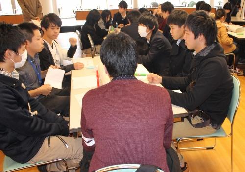 本学「推薦入試合格者入学前スクーリング」においてワークショップを実施しました。_c0167632_18201258.jpg
