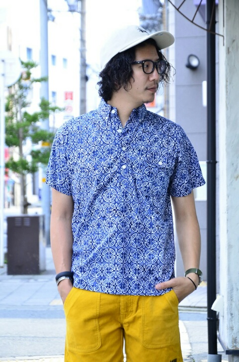 夏は柄シャツが着たい‼_c0167336_18512960.jpg