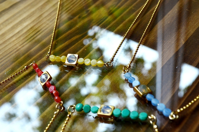 """""""ALLURE 2015 Summer Accessory Collection~ショートネックレス&ブレスレット編""""_d0153941_15455298.jpg"""