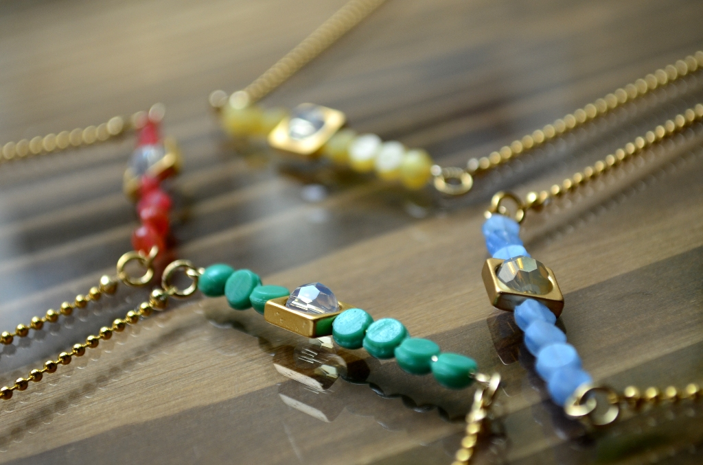 """""""ALLURE 2015 Summer Accessory Collection~ショートネックレス&ブレスレット編""""_d0153941_15455656.jpg"""