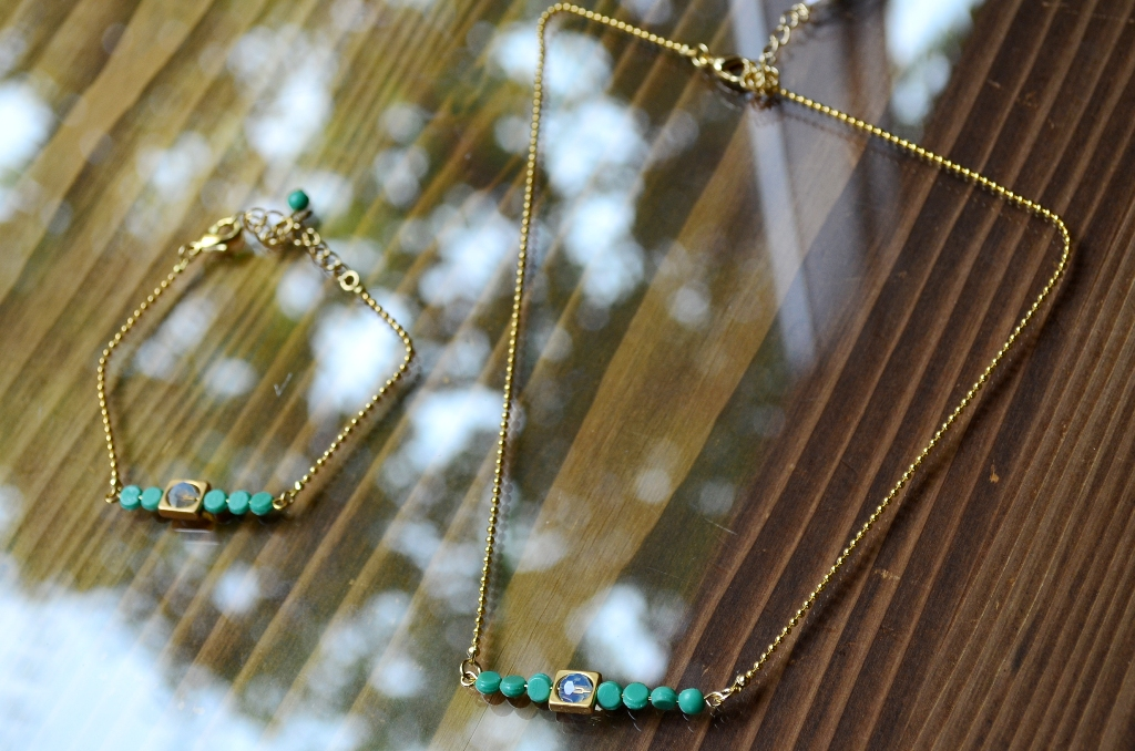 """""""ALLURE 2015 Summer Accessory Collection~ショートネックレス&ブレスレット編""""_d0153941_15492919.jpg"""