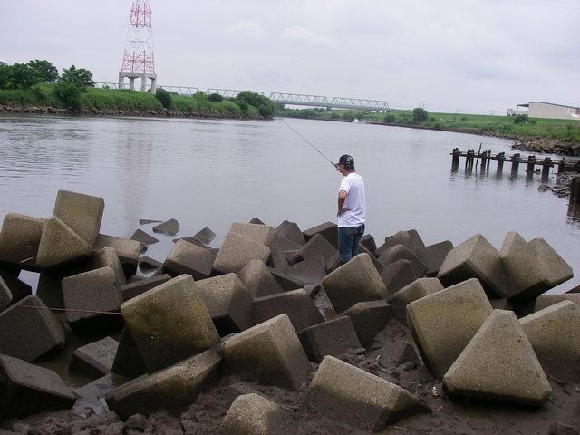 2015、テナガエビ釣りの1とハゼ釣りの1_a0074069_17075517.jpg