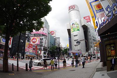 6月22日(月)今日の渋谷109前交差点_b0056983_11082890.jpg