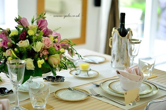 プロのお料理とクラシカルテーブルでブリテッシュな送別会。_b0313387_07300621.jpg
