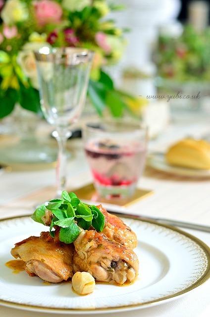 プロのお料理とクラシカルテーブルでブリテッシュな送別会。_b0313387_07400355.jpg
