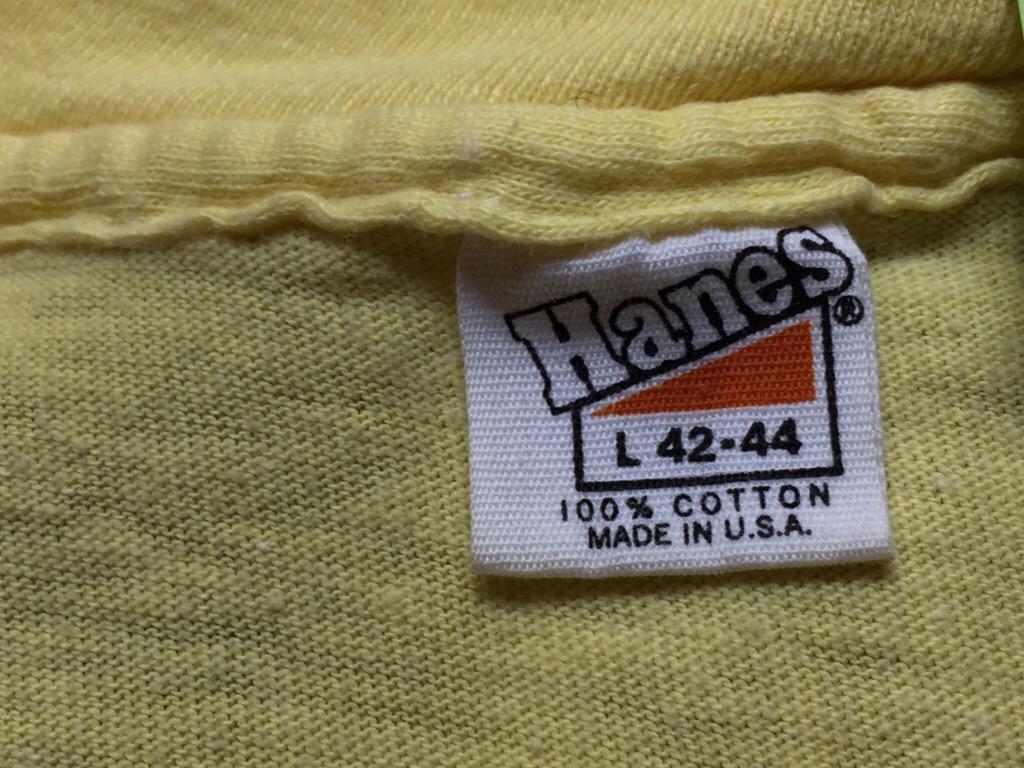 神戸店6/24(水)ヴィンテージ&ミリタリーT入荷!#2  Vintage Hanes+Russell!!! (T.W.神戸店)_c0078587_22371620.jpg