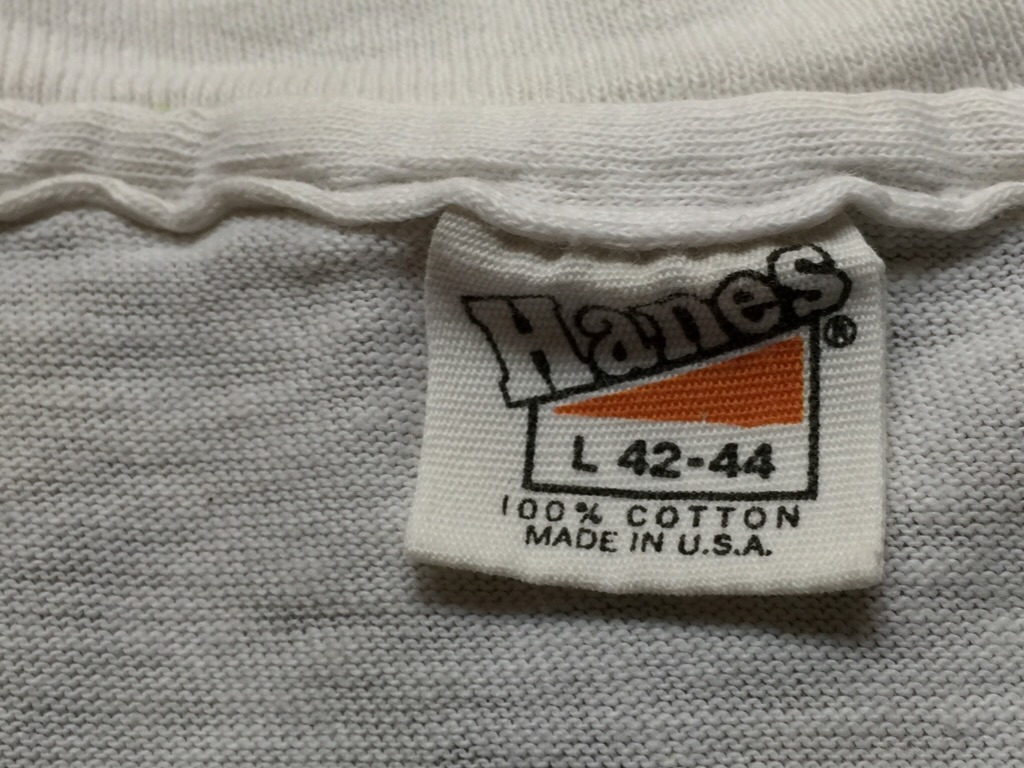 神戸店6/24(水)ヴィンテージ&ミリタリーT入荷!#2  Vintage Hanes+Russell!!! (T.W.神戸店)_c0078587_2242536.jpg