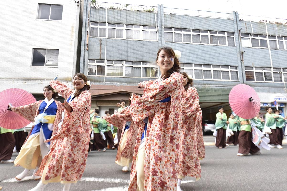 犬山踊芸祭「浜松学生連 鰻陀羅」_f0184198_1538136.jpg