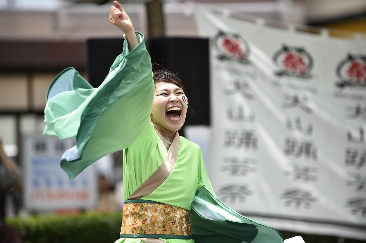 犬山踊芸祭「浜松学生連 鰻陀羅」_f0184198_15415630.jpg