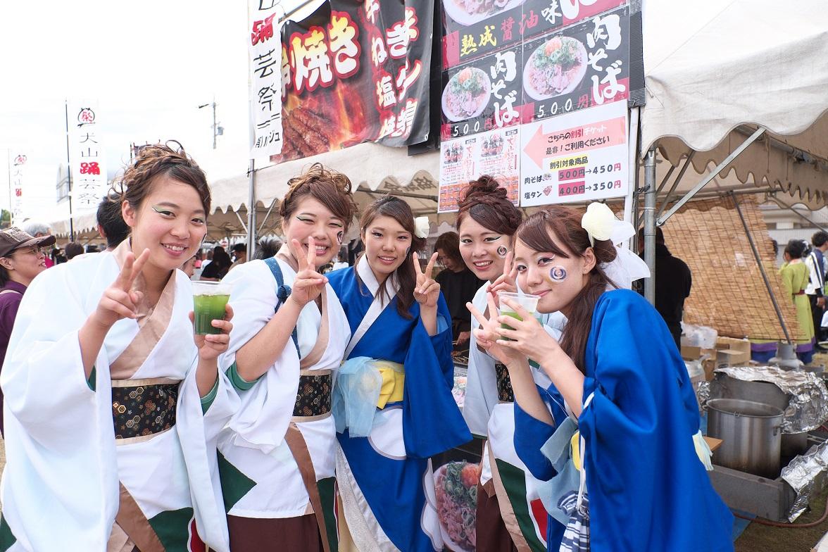 犬山踊芸祭「浜松学生連 鰻陀羅」_f0184198_15535523.jpg