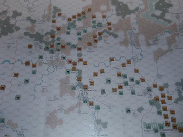 CHS/CMJ「コルスンの戦い」ソロプレイ(2戦目)⑥_b0162202_1814890.jpg