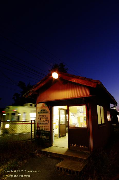 小さな駅の残照 ~'ばたでん'一畑電車、出雲平野を駆け抜けて_d0309612_21524698.jpg
