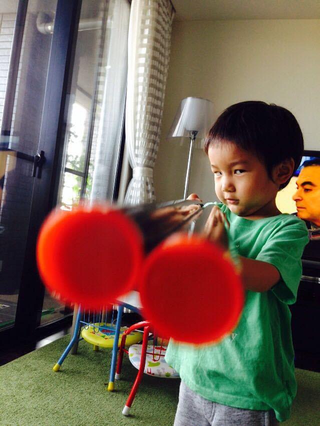 シオン3歳8ヶ月〜端午の節句に母の日に初めての運動会_e0253026_617118.jpg