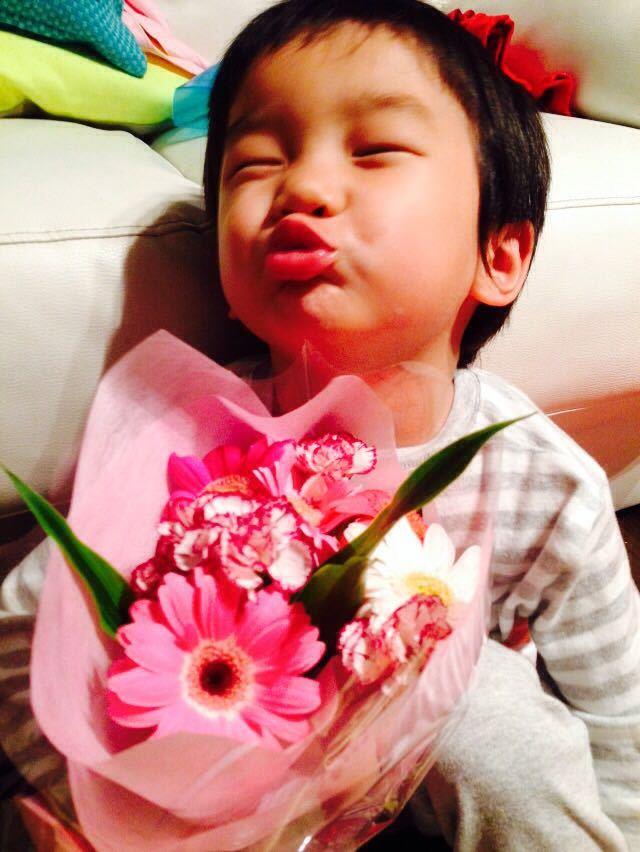 シオン3歳8ヶ月〜端午の節句に母の日に初めての運動会_e0253026_6171690.jpg