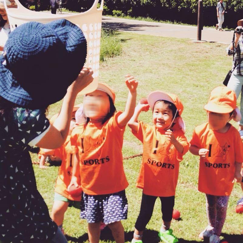 シオン3歳8ヶ月〜端午の節句に母の日に初めての運動会_e0253026_617211.jpg