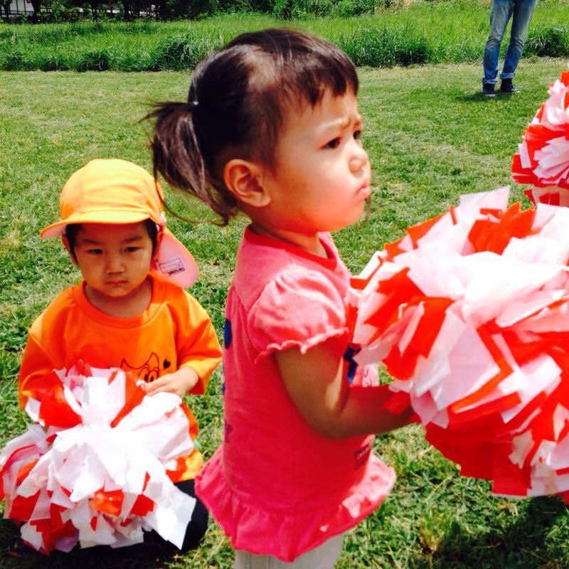 シオン3歳8ヶ月〜端午の節句に母の日に初めての運動会_e0253026_6172473.jpg
