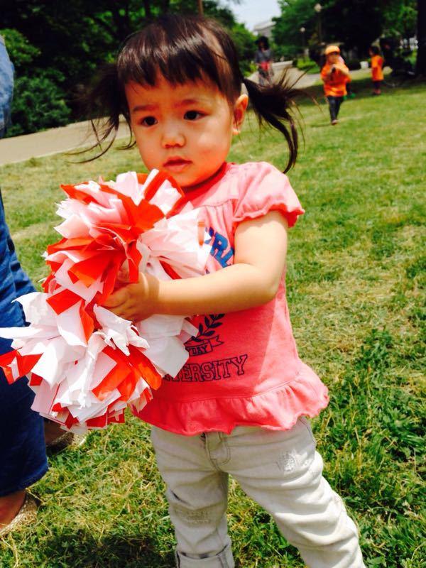 シオン3歳8ヶ月〜端午の節句に母の日に初めての運動会_e0253026_61725100.jpg