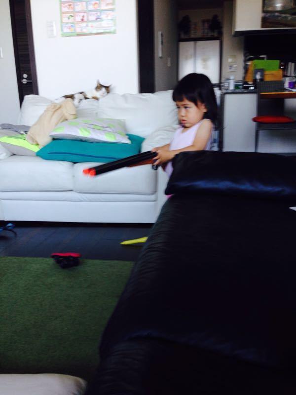 シオン3歳8ヶ月〜端午の節句に母の日に初めての運動会_e0253026_6172624.jpg