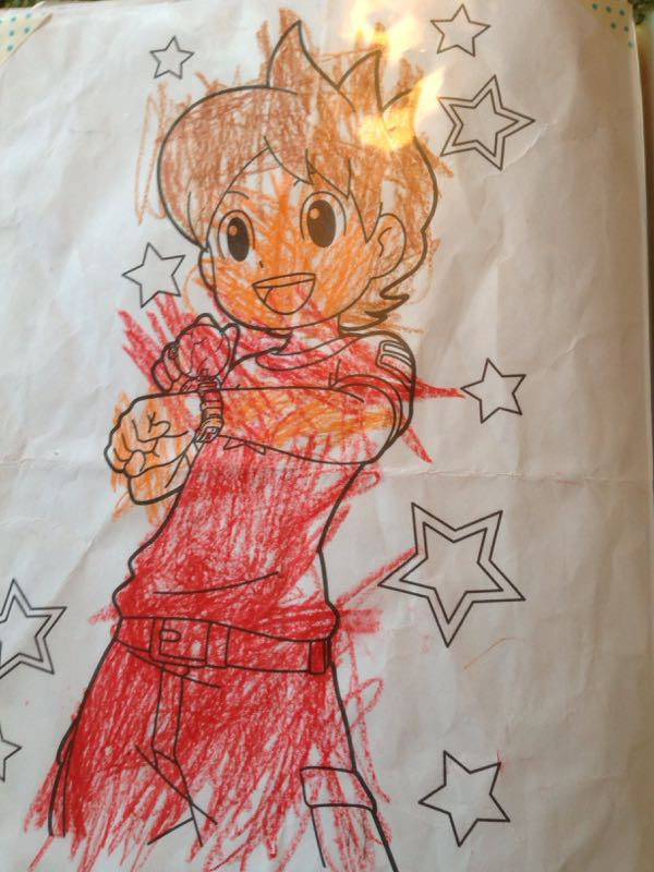 シオン3歳8ヶ月〜端午の節句に母の日に初めての運動会_e0253026_6172974.jpg