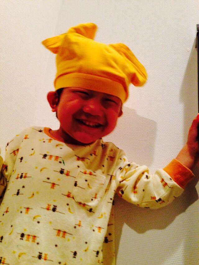 シオン3歳8ヶ月〜端午の節句に母の日に初めての運動会_e0253026_6173720.jpg